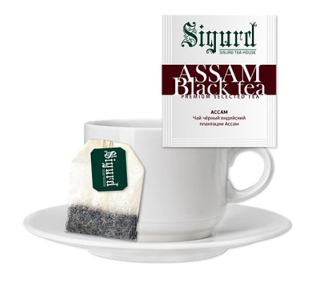Sigurd Assam Black Tea 30 пак