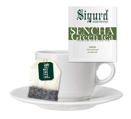 Sigurd Sencha Green Tea 30 пак
