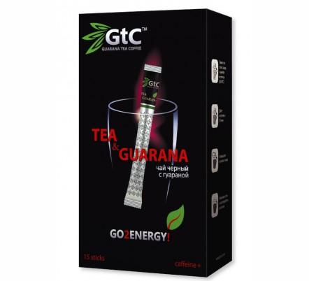 Чай GtC черный с экстрактом гуараны