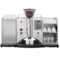 Установка и запуск суперавтоматической кофемашины